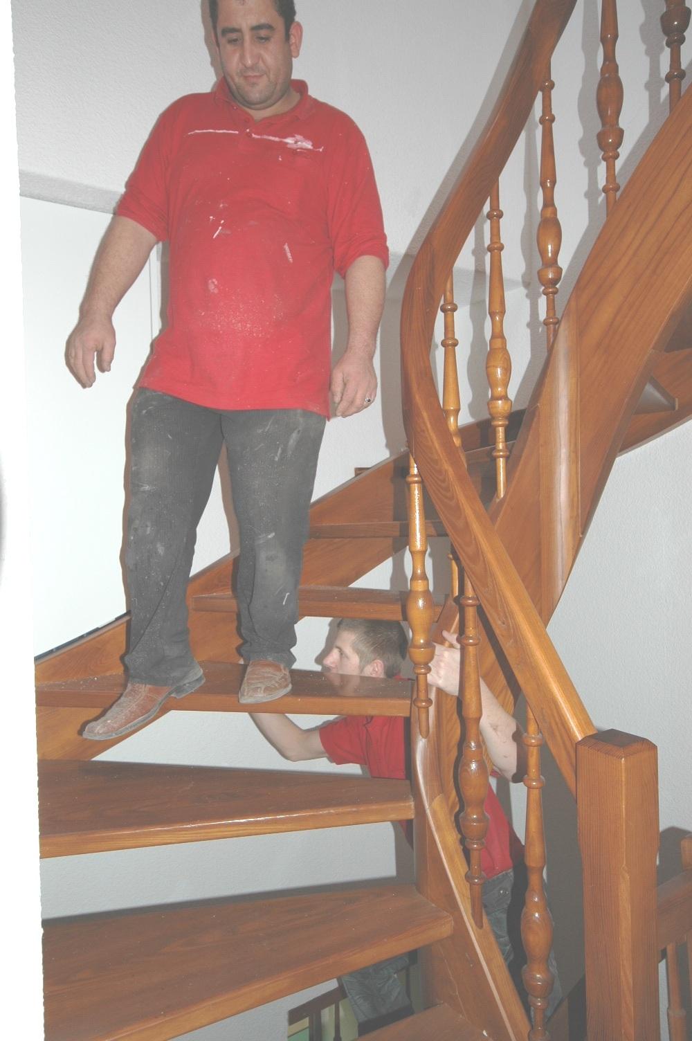 Treppen Entknarren Treppenforschung