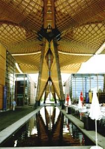 Abb. 6: Expodach, Hannover Ständer des Daches