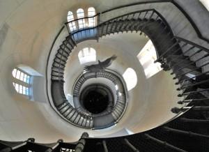 Treppe von 1836 im Jagdschloss Granitz/Rügen (WD)