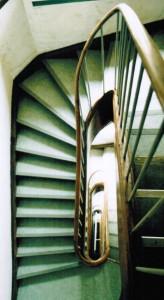 Blick ins Treppenauge