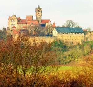 Höhenburg, Ronneburg Hessen Bauzeit 13.Jhd. ( wurde in den letzen Jahrzenten restauriert)