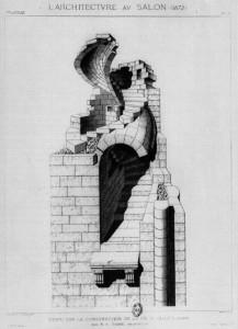 Ansicht vom Treppenlauf, L. Architectre AV Salomon 1872