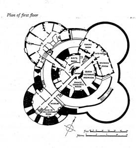 Grundriss der Wehranlage Walmer Castle