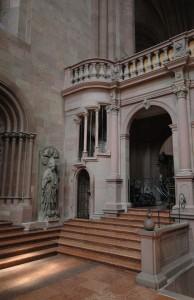 Treppenaufgang zum Lettner