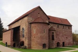 Die fast 1200 Jahre alte Einhardtsbasilika