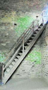 Die Menschen zu dieser Zeit mußten gut zu Fuß sein, um solche Treppen überwinden zu können
