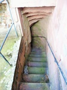 Nördlicher Treppenaufgang (von oben nach unten fotografiert)