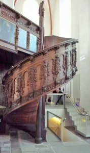 Treppe in der Jakobikirche