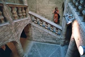 Der Treppenantritt