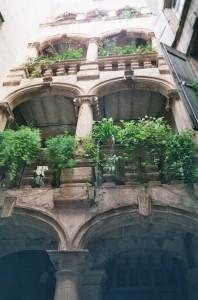 Loggia zur Hofseite