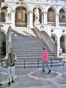 Scala dei Giganti, wurde damals wie heute nur für besondere Anlässe genutzt