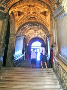 Die Goldene Treppe von Venedig