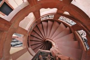 Treppenaufsicht