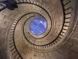 Fotografiert von unten nach oben