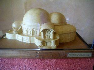 Ein Modell von Goetheanum I