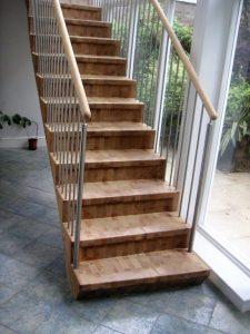 Die Bauzeit dieser Treppe war 2004