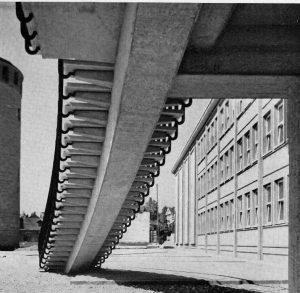 Bauzeit 1941, Material Eisenbeton