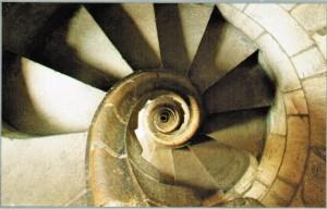 2 Hohlspindel in den Türmen der Sagrada Familia