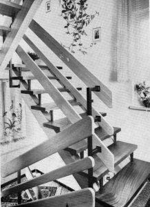 Eine Treppe aus dem selben Buch