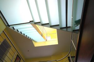 Treppenansicht von unten