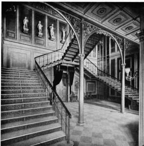 Verdoppelung einer dreiarmigen Treppe (entnommen, die Geschischte der deusche Treppen, Friedrich Mielke)